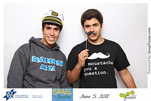 Photo Booth at Israel in the Gardens