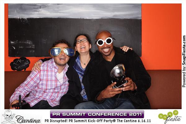PR Summit Kick Off at Cantina