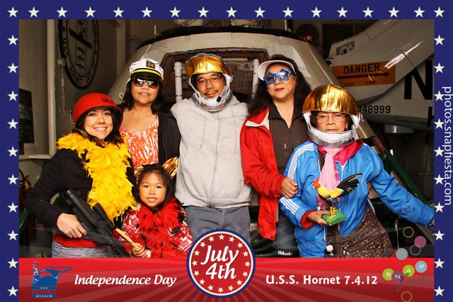 USS Hornet July 4th
