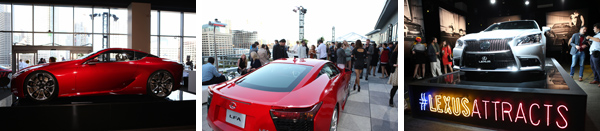 Lexus Laws of Attraction @ The Metreon City View 7.30.12